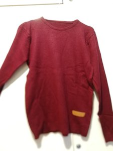 Used Brand new wine red wool unisex sweater M in Dubai, UAE